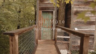 Comfortable Healing Music☁Resting Music in the Forest,BonfireSound,Stress Relief Music'With Coffee'