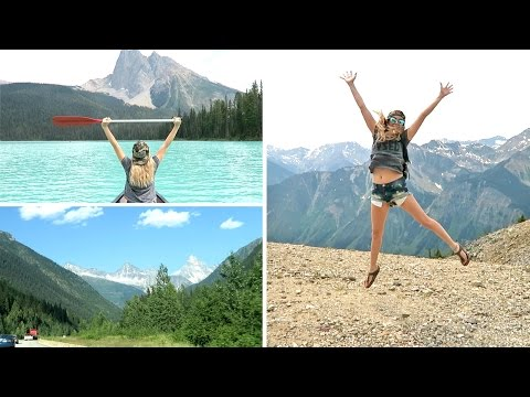 Rocky Mountain Road Trip | Kicking Horse, Lake Louise & Emerald Lake