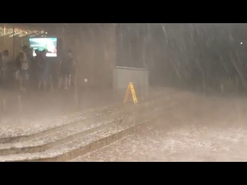 Massive Hail Storm hit Sun City, South Africa (Dec 15, 2018)