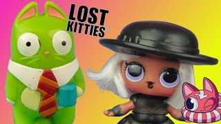 Lost Kitties & LOL Surprise  Kotki niespodzianki  bajka po polsku