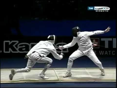 Epee Worlds 2006 - Spain vs. France, part 2