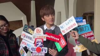 [EngSub] 高泰宇偶扑粉丝见面会媒体群访|Gao Taiyu's Fanmeeting Media Interview
