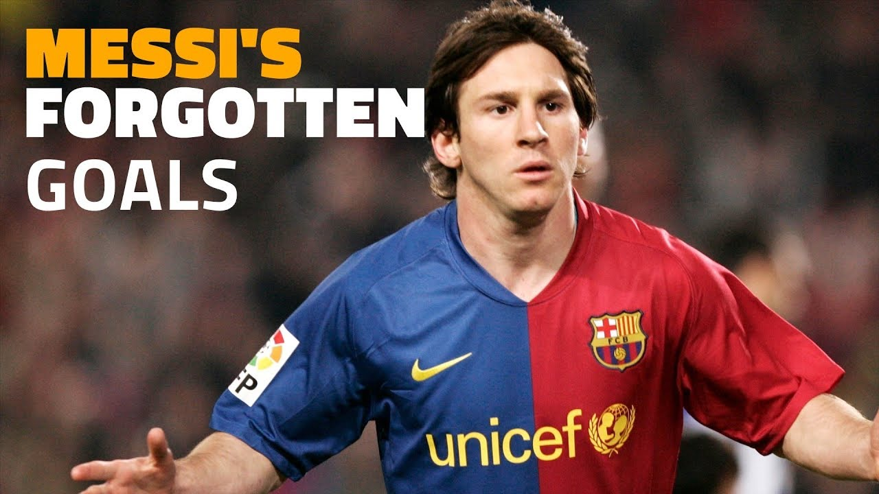 Messi S 25 Best Goals That You Won T Remember Youtube