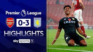 Watkins hits double as Villa thrash Gunners! | Arsenal 0-3 Aston Villa | Premier League Highlights