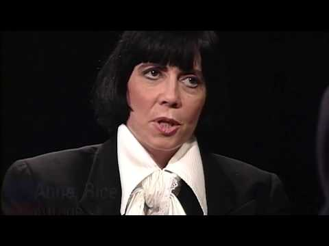 Anne Rice interview on Charlie Rose (1993)