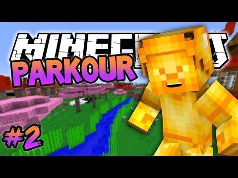 Minecraft: Golden Steve Parkour! Minecraft 1.8 (Blue Shell) Parkour Map! #2