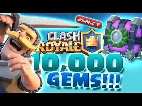 FREE 10,000 GEMS CLASH ROYALE TOURNAMENT!! SUBSCRIBERS GET FIRST ACCESS!