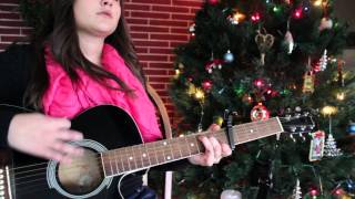 How to Play Mistletoe by Justin Bieber on The Guitar