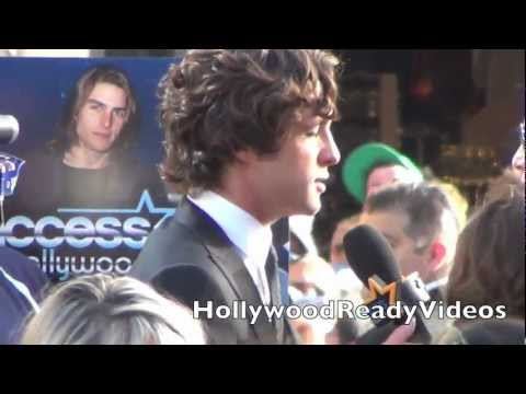 Diego Boneta at The Rock Of Ages Premiere in Hollywood!