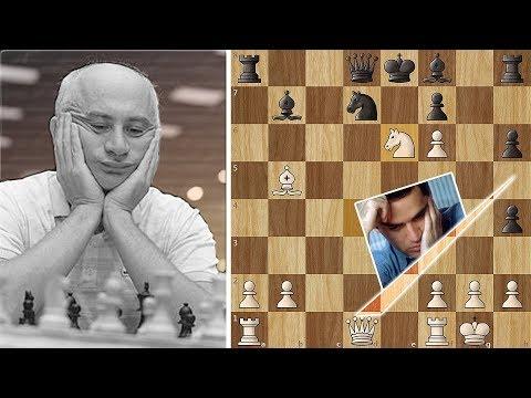 Gulko beats Kasparov in a Miniature - A Sacrifice gone Wrong