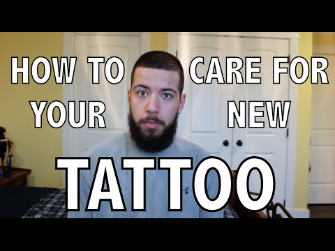 Tattoo healing how to care for your new tattoo step by for New tattoo care
