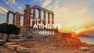 Athens | Greece | Walking Tour in 4K [2019]