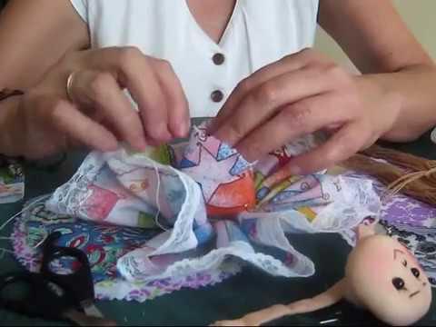 primer programa muñecas en trapo del taller de mimin (parte1 ...