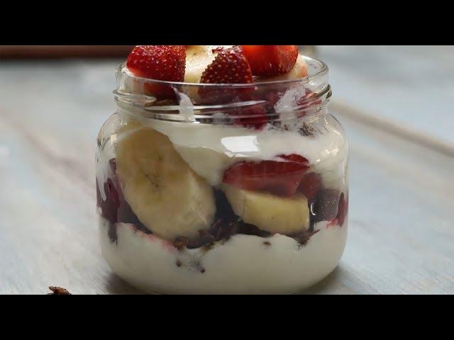 Yoğurtlu Meyveli Diyet Parfe Tarifi, Nasıl Yapılır?