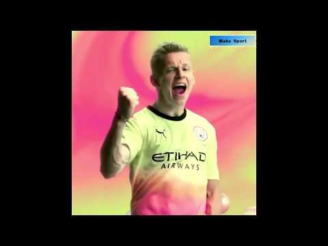 Зинченко представил новую форму Манчестер Сити.