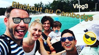 Vlog Cambodge #3: Blackout à Angkor beach !