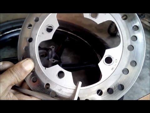 Yamaha LC135 V1 Fine Tune Rear Brake Disc