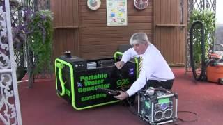 Портативный генератор работающий на воде