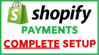 Shopify Payments Setup | Super SIMPLE Tutorial (Step by Step)