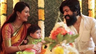 Ayra Yash Video : Yash Radhika Pandit Baby Naming Ceremony Video