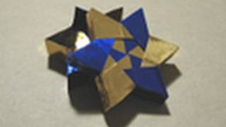 Origami Instructions: 6-pointed Star Box (Robin Glynn)