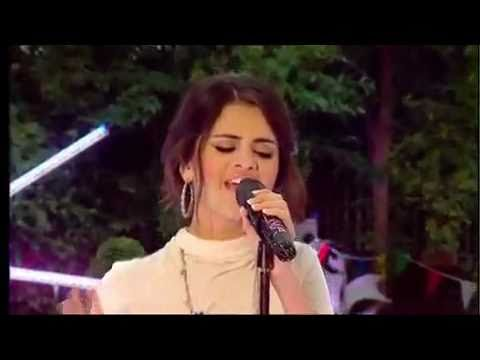 Selena Gomez and The Scene - Round and Round [On Blue Peter]