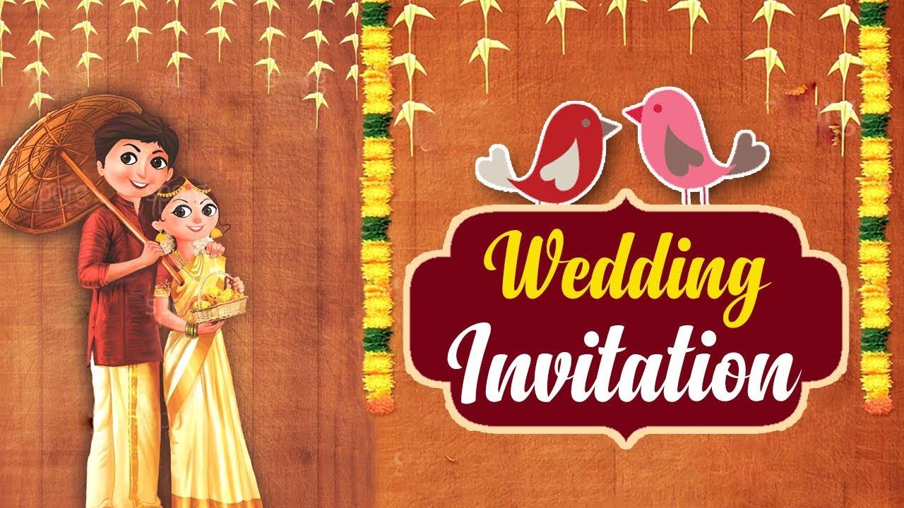 wedding invitation video  ecard  whatsapp invite