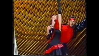 Vicky Larraz -  Bravo Samurai (Festival OTI 1987) España.mpg