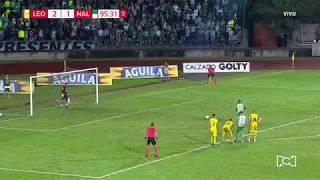 Leones 2-2 Nacional - Gol Jeison Steven Lucumí - Fecha 19 Liga Águila 2018-II