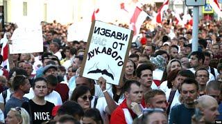 Беларусь. Протесты и забастовка   17.08.20