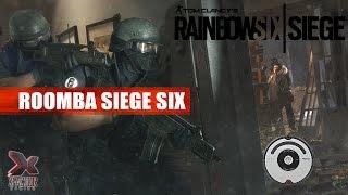 Roomba Six Siege 3v5 w/ TacticoolFactor - Rainbow Six Siege Gameplay
