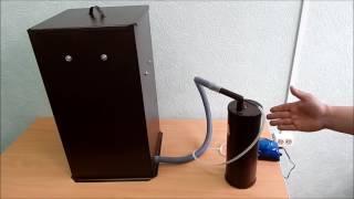 видео Коптильня бытовая  холодного копчения Дым Дымыч  модель 01Б
