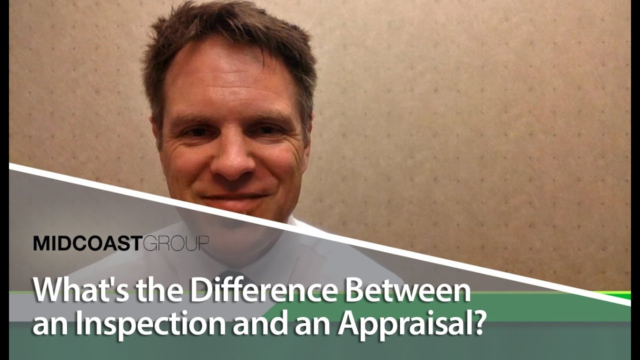 What's the Difference Between an Inspection and an Appraisal?