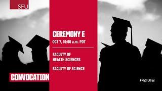 SFU Fall 2021 Convocation Ceremony E