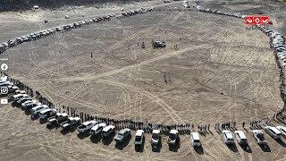 تدشين مطارح محافظة إب وإشهار الشعبية لإسناد الجيش الوطني