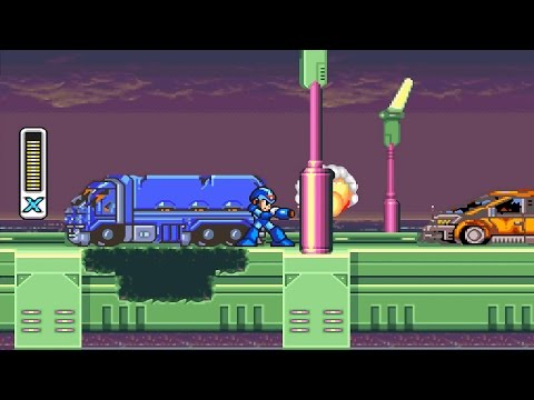 Mega Man X SNES Gameplay 1080p - Retro Gameplay Channel