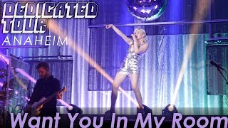 Carly Rae Jepsen - Want You In My Room - LIVE @ Anaheim House of Blues - 6-27-19