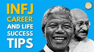 Gambar cover INFJ ADVICE and Success Tips on Life, Love, and Career