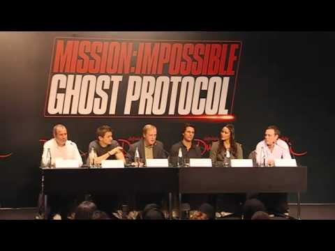 Mission Impossible Ghost Protocol - Tom Cruise Interview