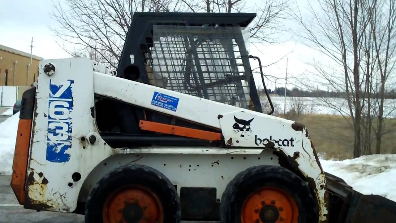 Bobcat 763 With Specs Youtube