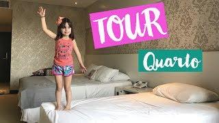 Laurinha em TOUR PELO MEU QUARTO DO HOTEL | FÉRIAS NO PARAGUAI