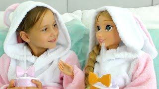 صوفيا وأختها توأمتها يريدوا نفس الفستان !!!