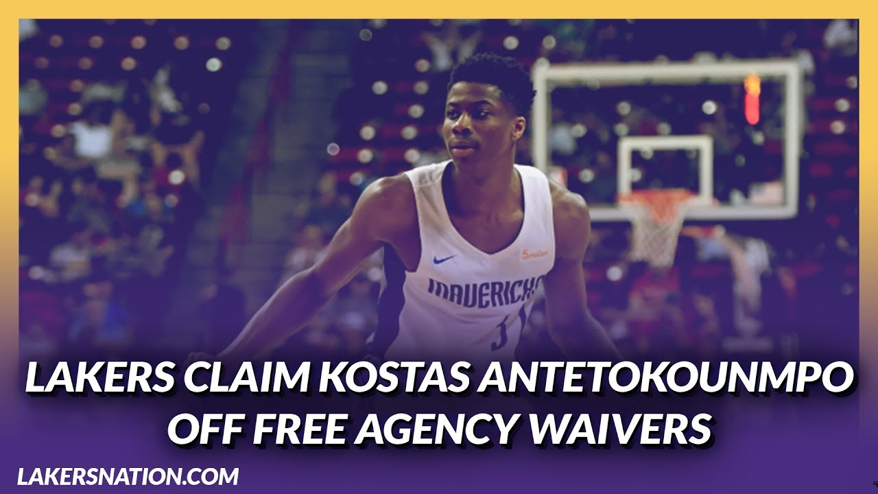 Lakers Rumors: Giannis' Brother Kostas Antetokounmpo Claimed off Waivers