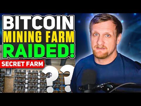 Bitcoin Mining Farm Raided