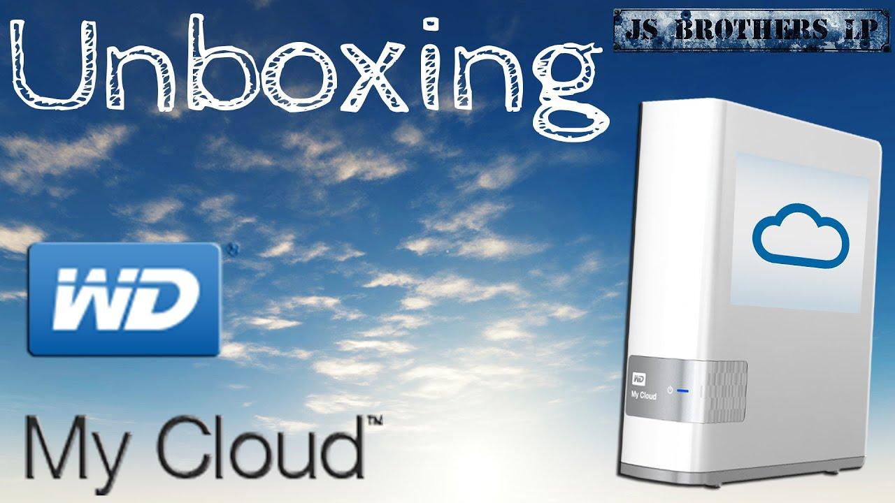 Unboxing Wd Mycloud 4 Tb Einrichtung Ger 1080p Youtube