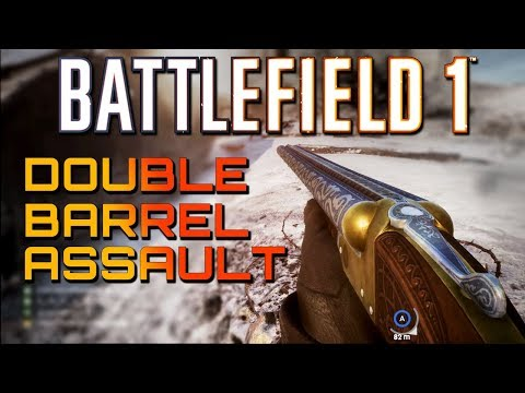 Battlefield 1: Double Barrel Assault - TSAR DLC (4K PS4 PRO Multiplayer Gameplay)
