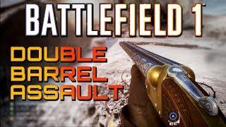 Battlefield 1: Double Barrel Assault - TSAR DLC (4K PS4 PRO Multiplayer Gameplay)