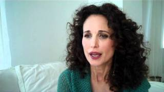 Actress and guideposts magazine's may 2013 cover star andie macdowell reveals which characters she loved playing on screen!