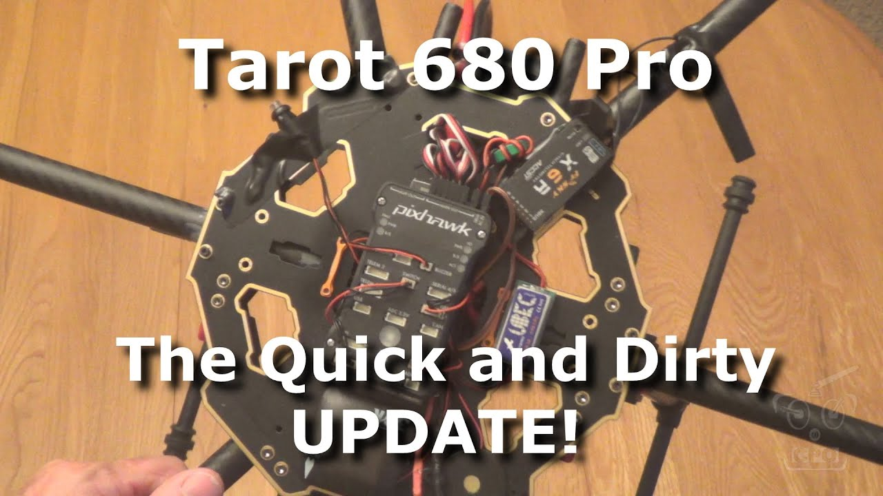 Tarot 680 Pro Hexacopter : Build Tips and Update