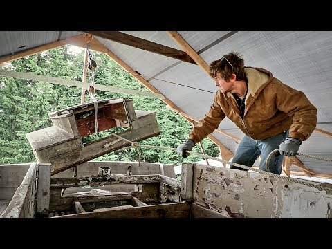 10. Deck hatches &  Rollerskates (& why I have this amazing workshop) - Rebuilding Tally Ho EP10
